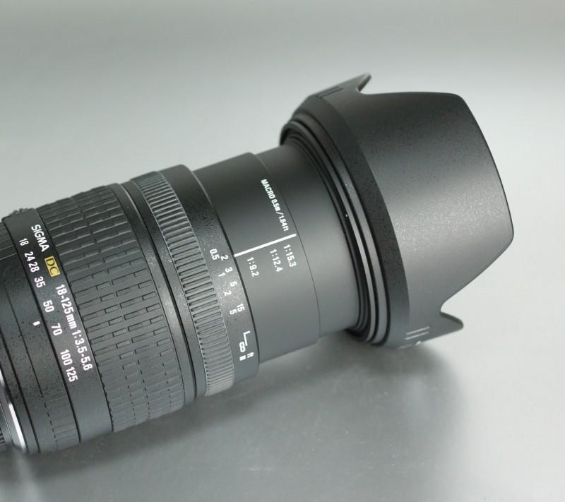 SIGMA 18-125/3,5-5,6 DC pro Olympus TOP STAV