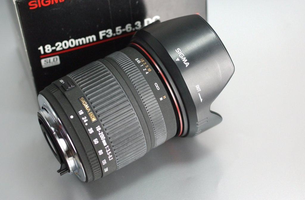 Sigma 18-200 f/3,5-6,3 DC pro PENTAX