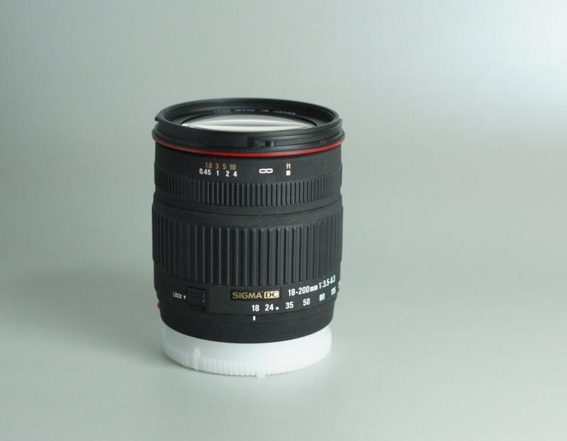 Sigma 18-200 f/3,5-6,3 DC pro SONY