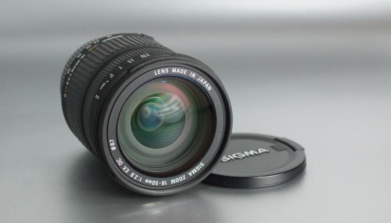 Sigma AF 18-50/2.8 EX DC pro Nikon