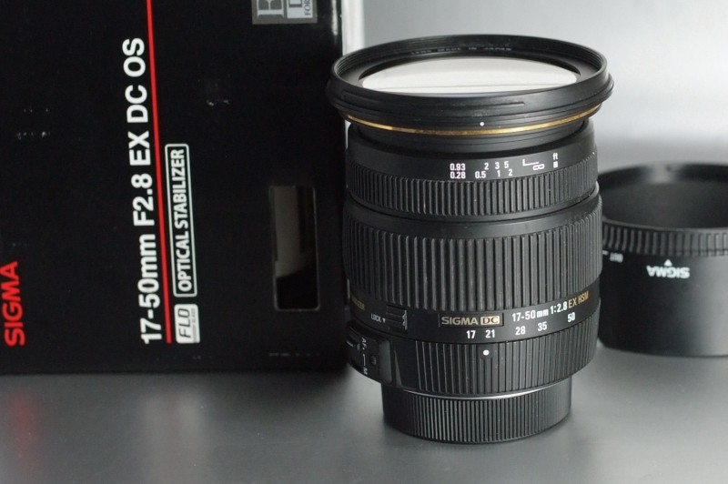 Sigma 17-50 F/2,8 EX OS HSM pro Nikon záruka 2018