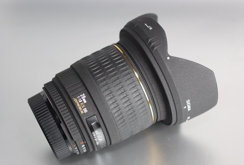 Sigma 20mm f/1.8 EX DG pro NIKON TOP STAV