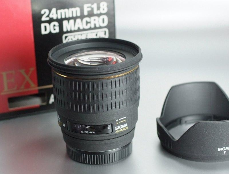 Sigma 24mm f/1.8 EX DG MACRO pro SONY TOP STAV
