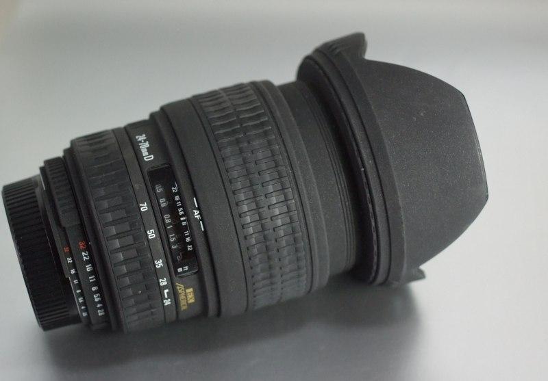 SIGMA 24-70 mm f/2,8 EX D pro Nikon