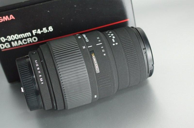 Sigma 70-300/4-5.6  DG MACRO pro PENTAX