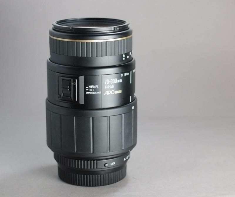 Sigma 70-300/4-5.6 APO  MACRO pro PENTAX