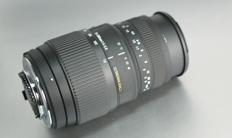 Sigma 70-300/4-5.6 DG MACRO pro NIKON TOP STAV