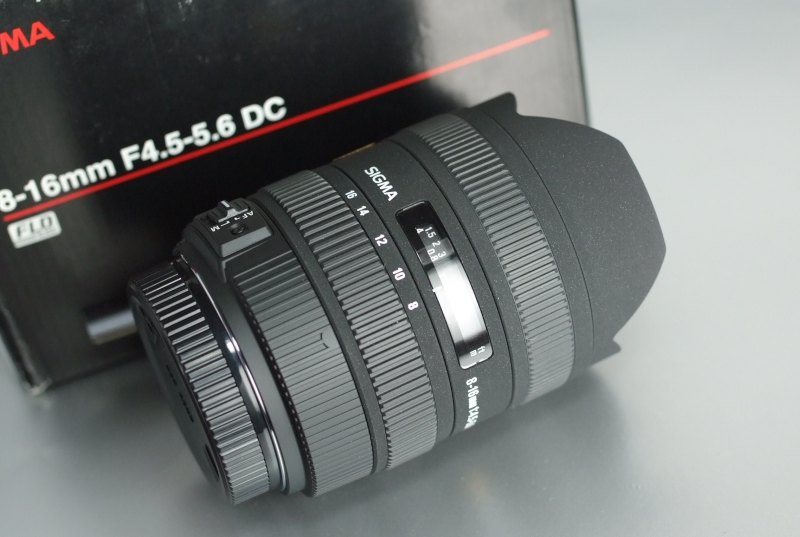 Sigma 8-16mm f/4,5-5,6 DC HSM pro SONY