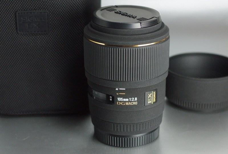 SIGMA  AF 105mm f/2,8 EX DG  Macro 1:1 pro SONY