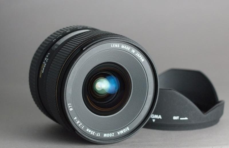 Sigma 17-35/2.8-4. 0 EX DG IF HSM pro Canon