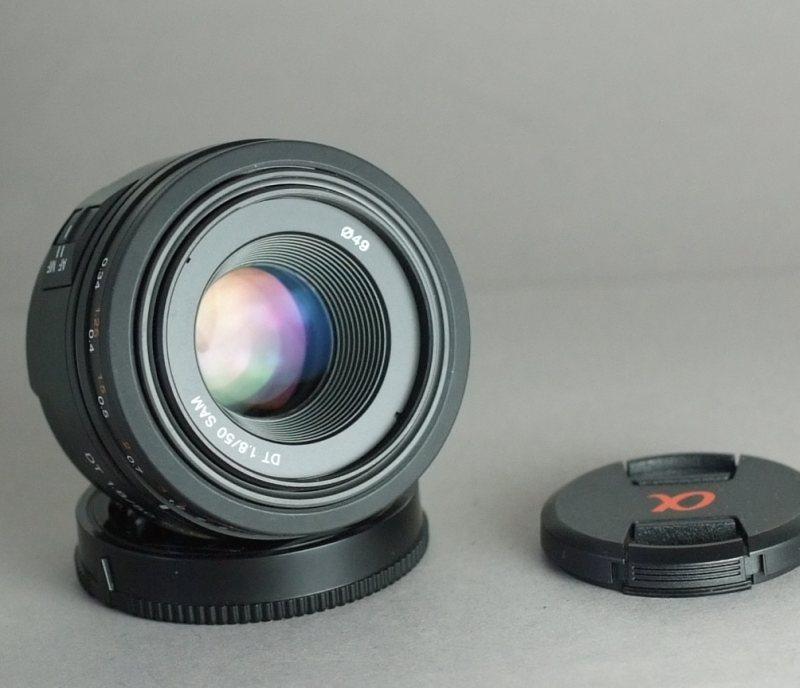 Sony DT 50 mm f/1,8 SAM TOP STAV