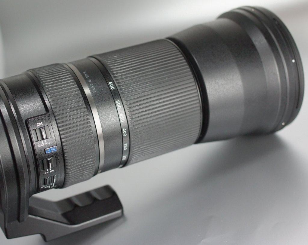 TAMRON 150-600 mm f/5-6,3 SP Di VC USD pro Canon