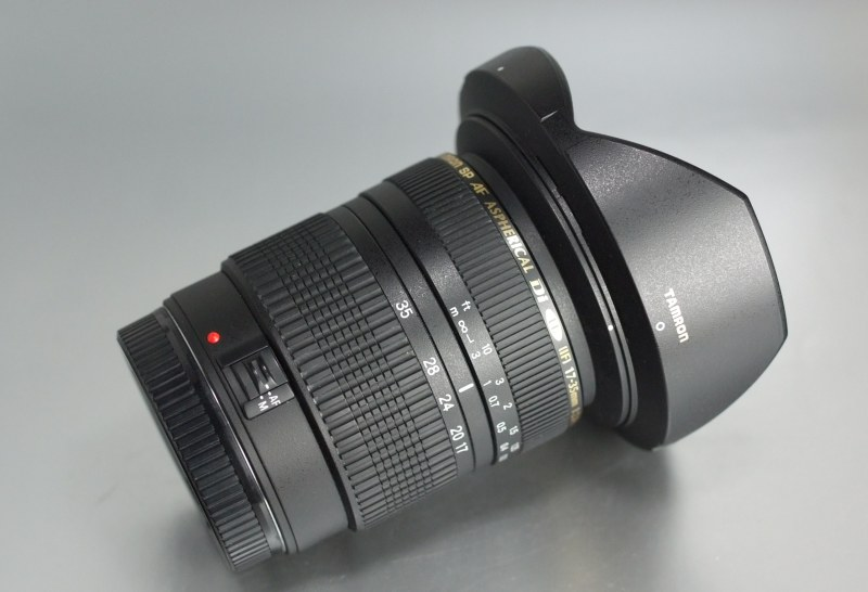 Tamron AF SP 17-35 mm F/2,8-4 Di pro Canon TOP