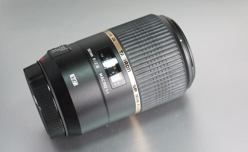 TAMRON 90 mm f/2,8 SP Di Macro VC USD pro Canon