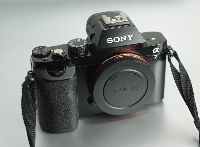 Sony Alpha A7 TOP STAV