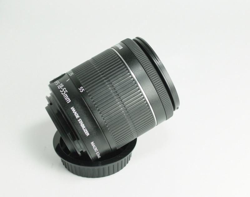 CANON EF-S 18-55 mm f/3,5-5,6 IS STM SUPER  STAV