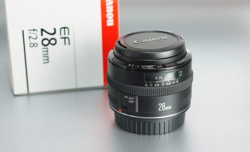 Canon EF 28mm f/2.8 TOP STAV