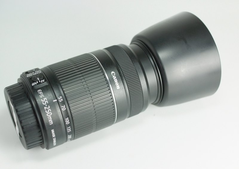 Canon EF-S 55-250mm f/4-5,6 IS II TOP STAV