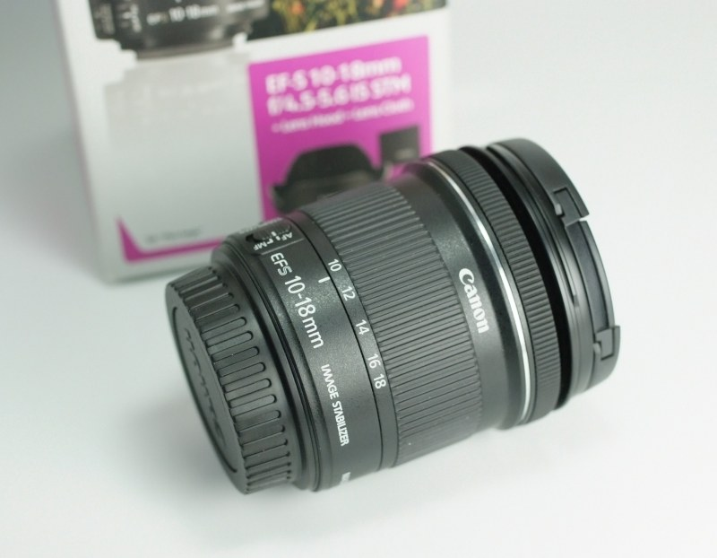 Canon EF-S 10-18mm 4.5-5.6 IS STM záruka do 12/2019