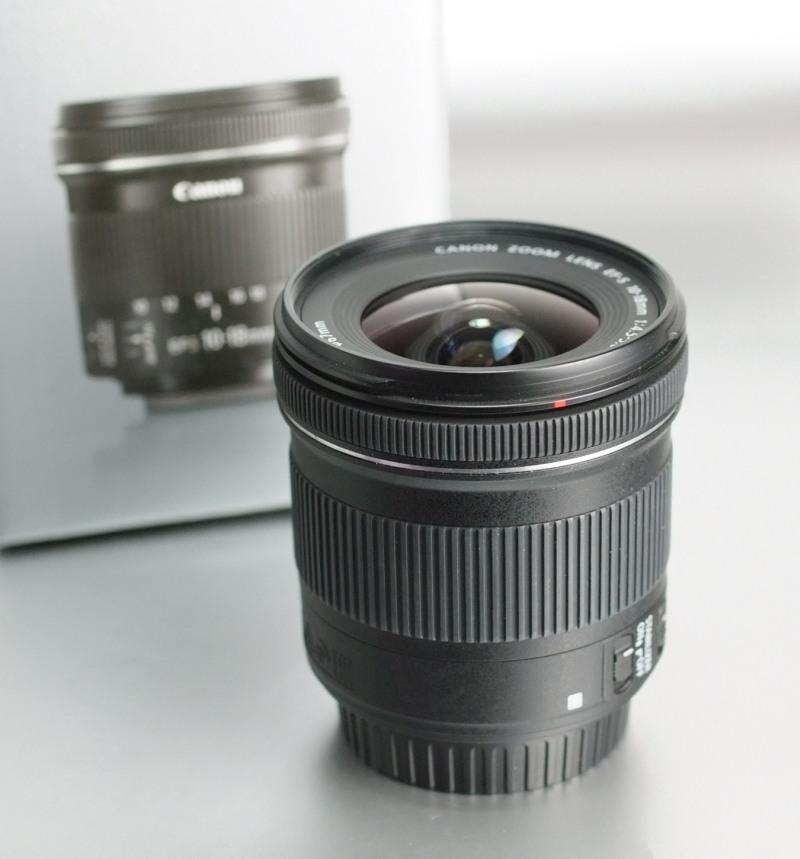 Canon EF-S 10-18mm 4.5-5.6 IS STM záruka do 4/2018