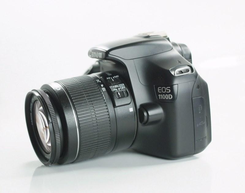 Canon EOS 1100D + Canon 18-55mm SUPER STAV
