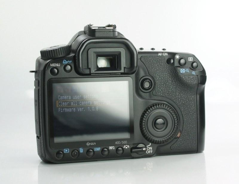 Canon EOS 40D  TOP STAV