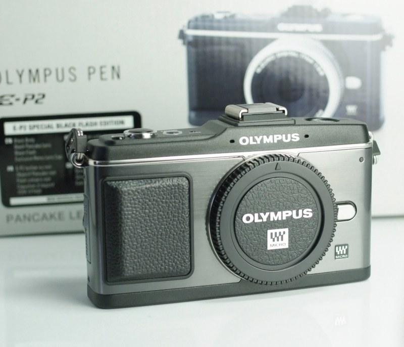 OLYMPUS E-P2 TOP STAV