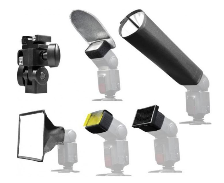Hähnel Universal Flash Accessory Kit - set difuzér
