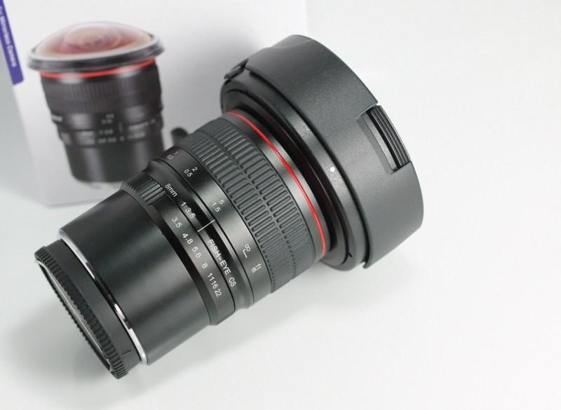 Meike MK 8mm f/3,5 pro micro 4/3 záruka 2/2020