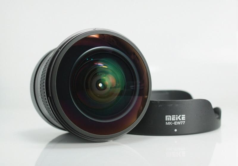 MEIKE 8 mm f/3,5 Fisheye CS pro Canon