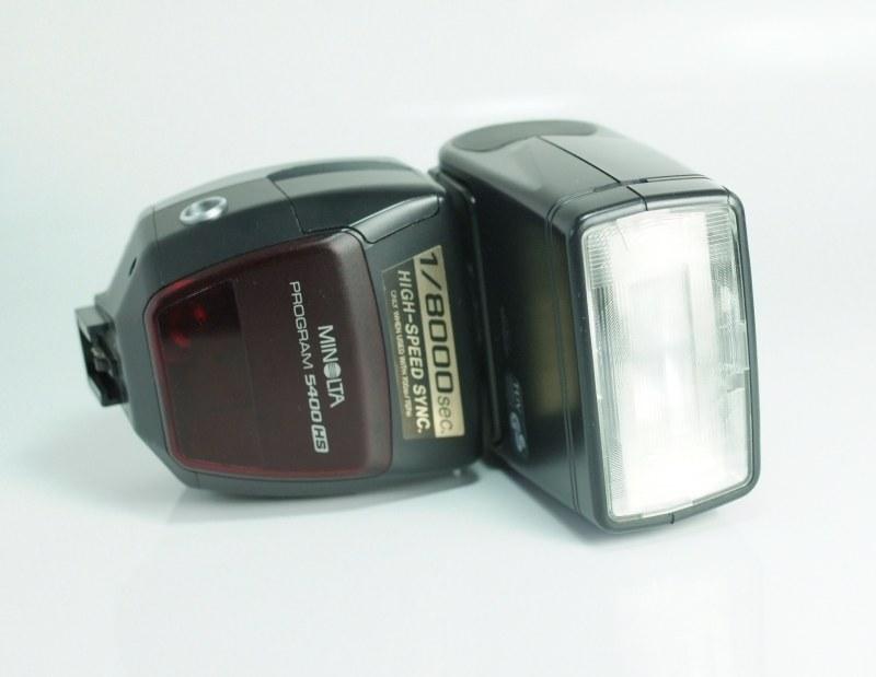 Blesk Minolta 5400-HS