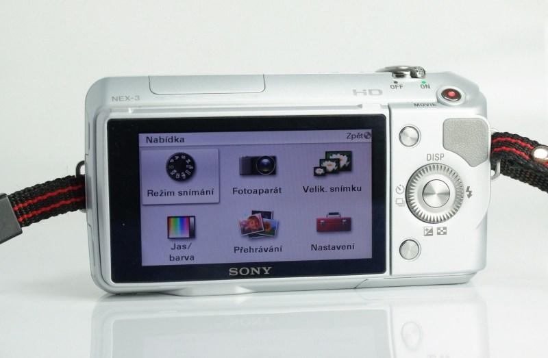 Sony NEX-3 SUPER STAV