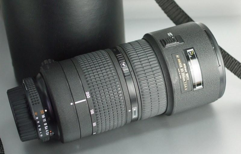 Nikon 80-200 mm F2,8 AF  D ED