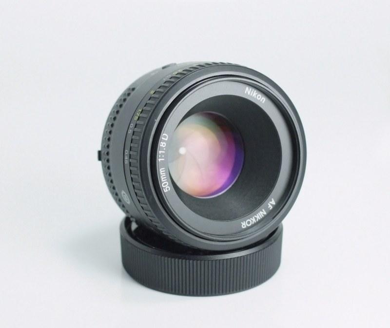 NIKON 50 mm f/1,8 D AF TOP STAV