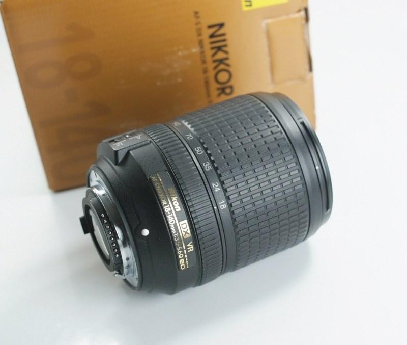 NIKON 18-140 mm f/3,5 5,6G ED VR záruka 5/2019