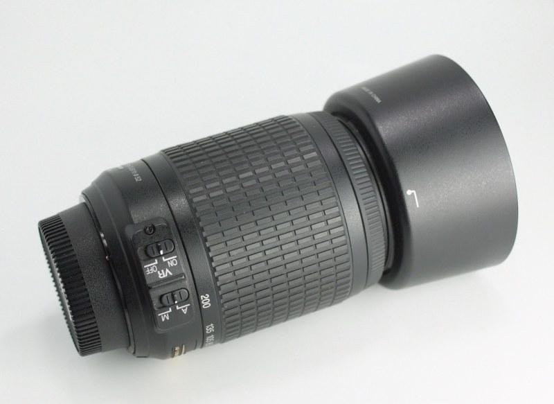 Nikon 55-200mm f/4-5.6G AFS VR  SUPER STAV