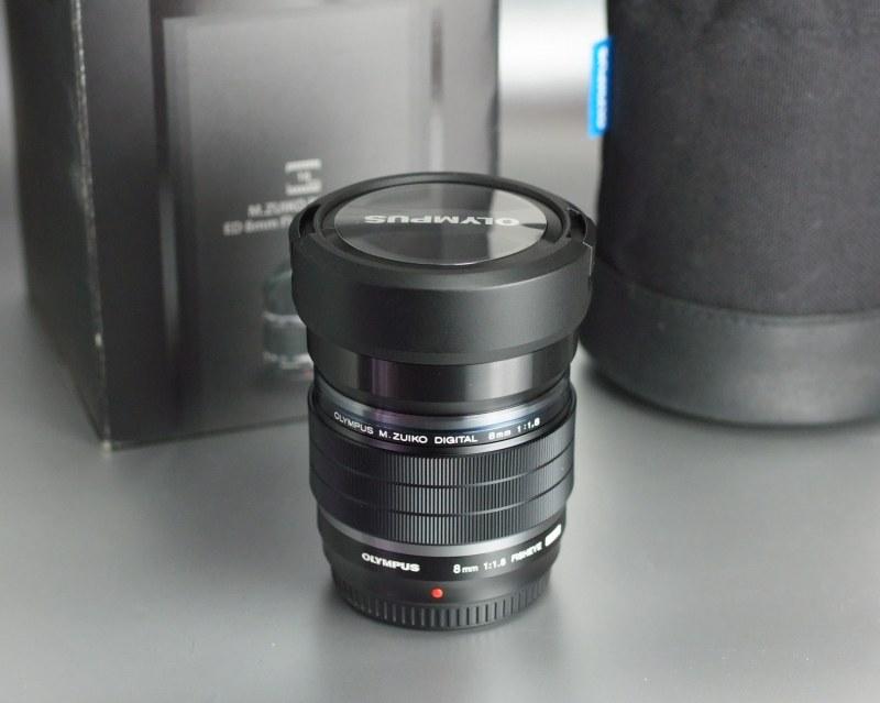 OLYMPUS M.Zuiko 8mm f/1,8 PRO FishEye