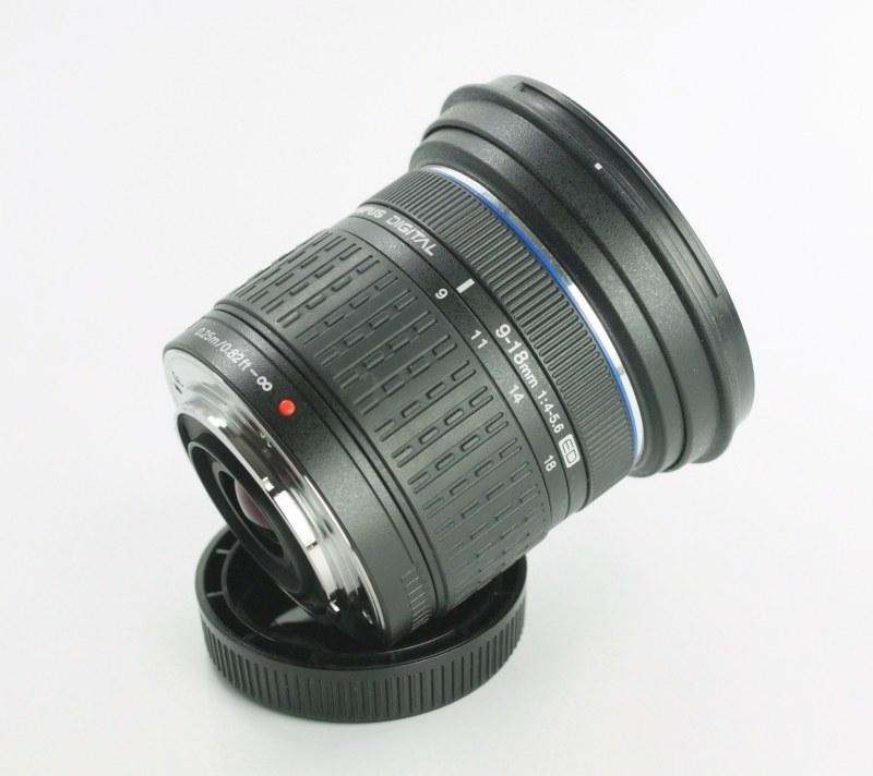 Olympus ZUIKO 9-18mm f/4,0-5,6 ED  TOP STAV