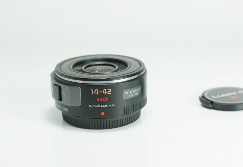 PANASONIC 14-42 mm f/3,5-5,6 POWER O.I.S LUMIX G X