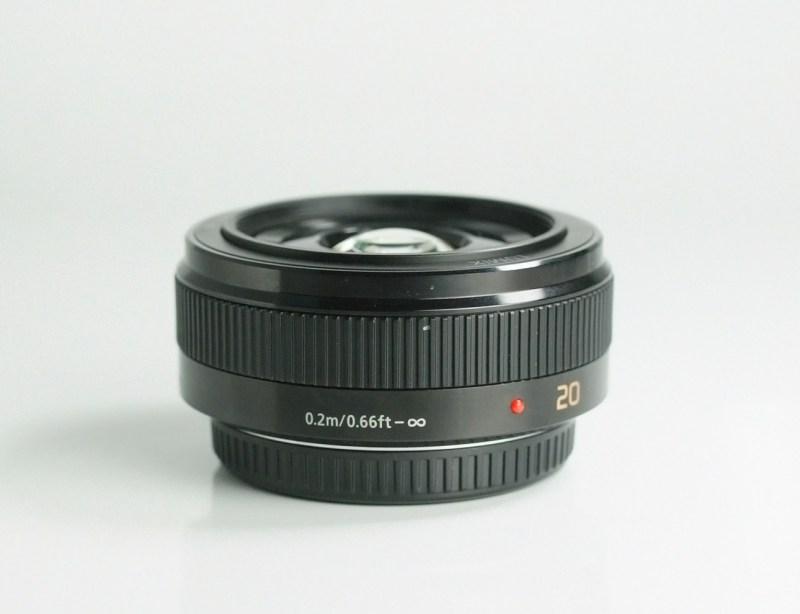 PANASONIC 20 mm f/1,7 černý ASPH LUMIX G II TOP STAV