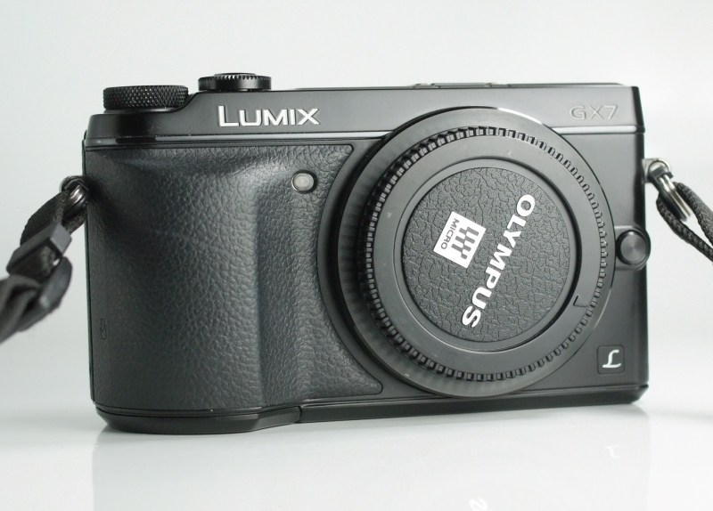 PANASONIC Lumix DMC-GX7  TOP STAV