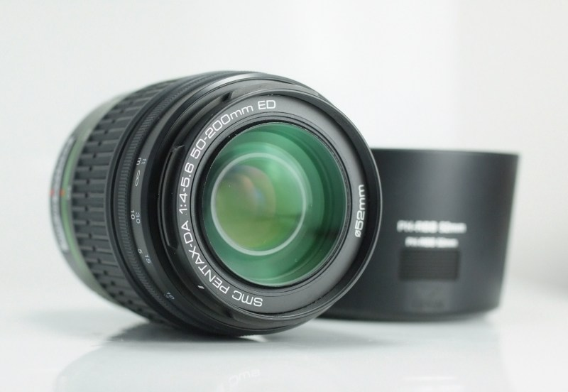 PENTAX smc DA 50-200mm f/4-5.6 ED TOP  STAV