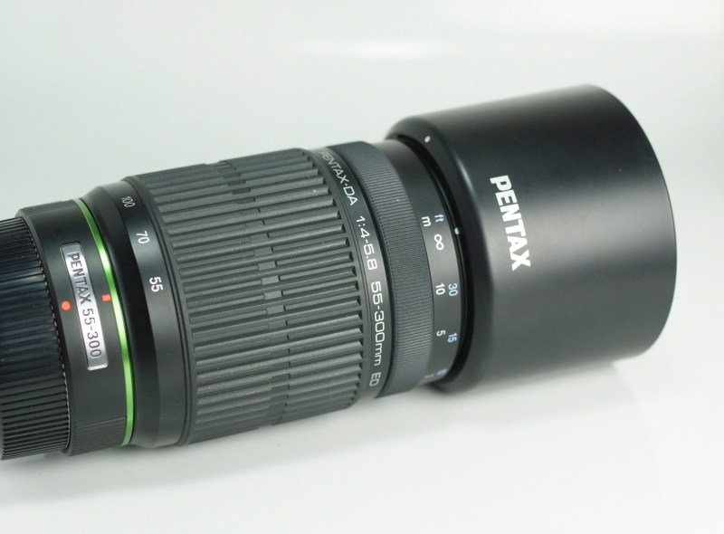 Pentax DA 55-300 mm F 4,0-5,8 ED TOP STAV