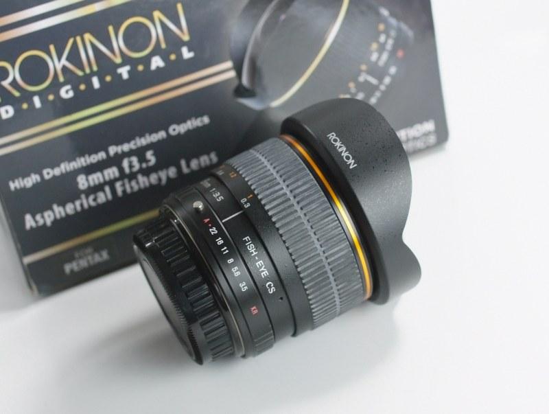 ROKINON 8 mm f/3,5 Fisheye pro Pentax (Samyang)