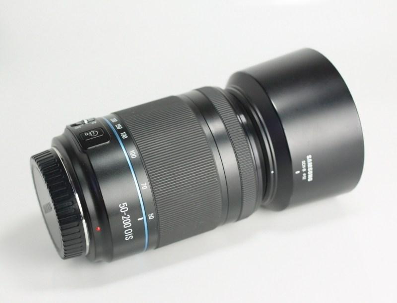 SAMSUNG 50-200 mm f/4-5,6 OIS pro NX