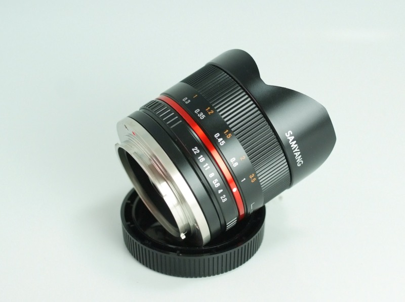 SAMYANG 8 mm f/2,8 UMC Fish-eye II pro SONY E