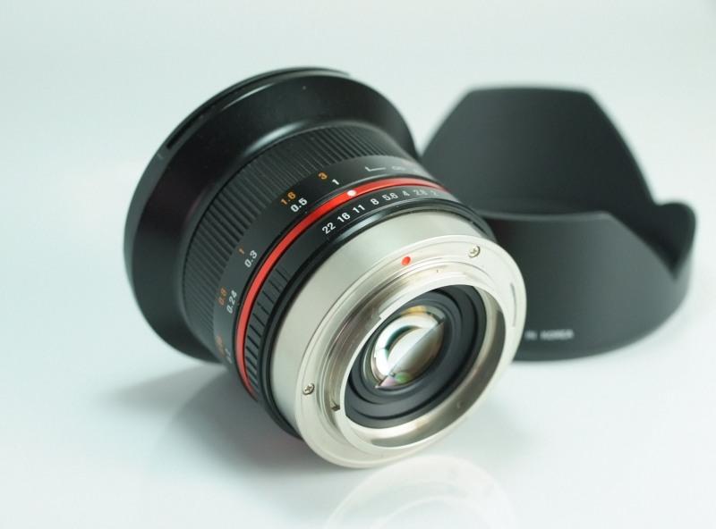 SAMYANG 12 mm f/2 NCS CS pro Fujifilm X