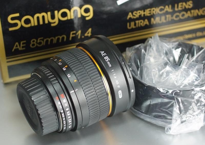 SAMYANG 85 mm f/1,4 AS IF MC pro Nikon AE