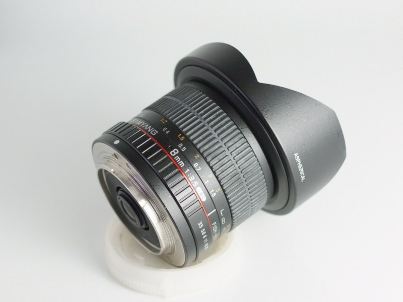 SAMYANG 8 mm f/3,5 UMC Fish-eye CS II pro SONY