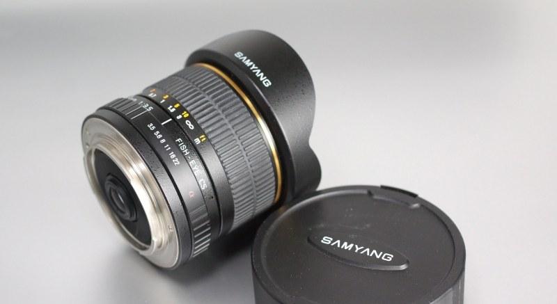 Samyang 8mm f/3,5 pro Sony